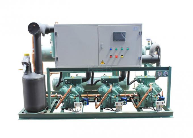 4GE-30Y Water Cooled Bitzer Condensing Unit Oil Compressor For Medium & High Temperature Environment