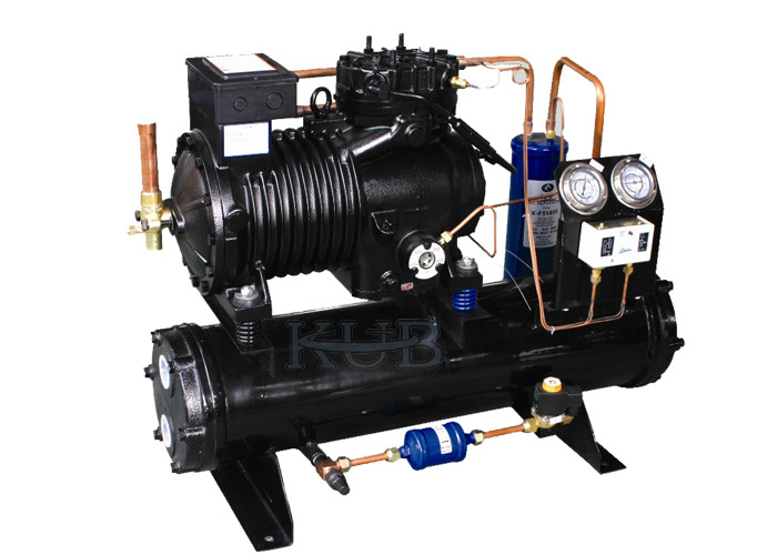 CA-0300 Water Cooled Condensing Units Low Temperature Low Noise Highly Stable Perfomance