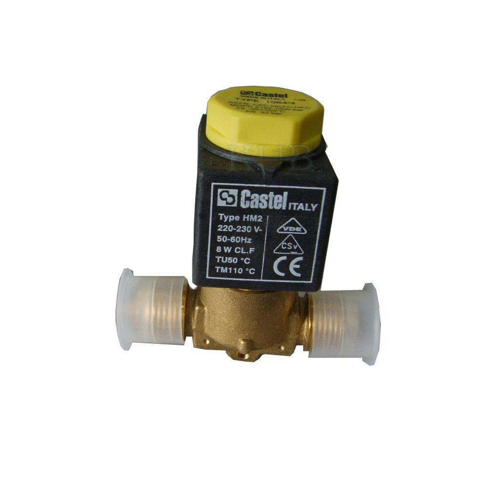 1028/3 Electric Cold Storage Parts , Gas Solenoid Valve Long Lifespan Highly Reliable