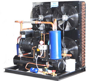 China 15HP Air Cooled Condensing Unit Semi Hermetic Advanced Technology 380V Voltage  480KG factory