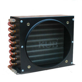FNH Small Plate Heat Exchanger , High Efficiency Heat Exchanger Air Cooled Copper Tube