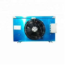 Aluminium Fin D Type Evaporator , 4400W Air Fan Cooler Heat Exchanger Integral Casting Iron Alloy