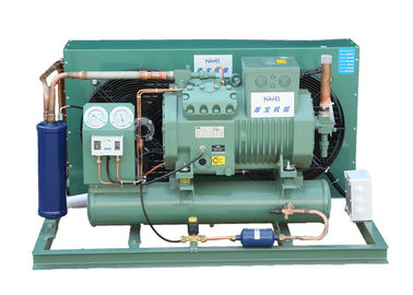China 10HP Piston Compressor Bitzer Semi Hermetic Condensing Unit 4VES-10Y High Efficiency factory