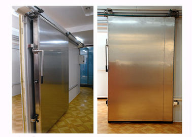 75mm 100mm 120mm 150mm 200mm Cold Storage Doors Silding Design Chemical Resistance Stability