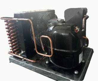 China 1.5hp Hermetic Compressor Condenser Unit Explosion Proof Black Color 1 Year Warranty factory